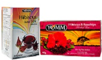 Hibiscus Tea - YOMM Beverages Inc. - Antioxidant Tea - Winnipeg Manitoba